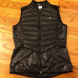 Women's Nike Aeroloft Down Running Vest Size L
